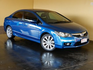 2010 Honda Civic MY10 Sport Blue 5 Speed Automatic Sedan