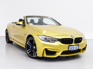 2014 BMW M4 F83 Yellow 7 Speed Auto Dual Clutch Convertible.