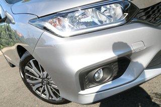 2017 Honda City GM MY18 VTi-L Lunar Silver 7 Speed Constant Variable Sedan.