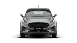 2020 Ford Puma JK 2020.75MY ST-Line DCT Solar Silver 7 Speed Sports Automatic Dual Clutch Wagon.
