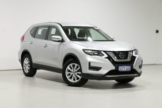 2019 Nissan X-Trail T32 Series 2 ST (4WD) Silver Continuous Variable Wagon.