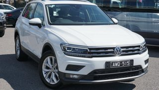 2018 Volkswagen Tiguan 5N MY19 132TSI DSG 4MOTION Comfortline White 7 Speed.