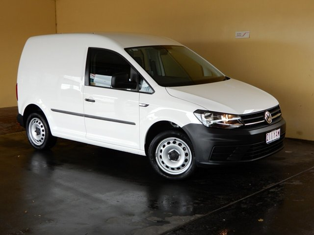 Used Volkswagen Caddy 2K MY17 TSI220, 2017 Volkswagen Caddy 2K MY17 TSI220 White 7 Speed Auto Direct Shift Van