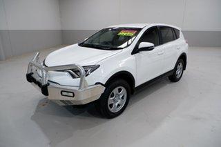 2016 Toyota RAV4 ASA44R MY16 GX (4x4) White 6 Speed Automatic Wagon.