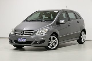 2011 Mercedes-Benz B200 245 MY11 Grey Continuous Variable Hatchback.