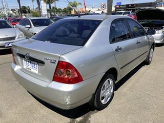 2005 Toyota Corolla ZZE122R Ascent Sport Silver & Army Green 4 Speed Automatic Sedan