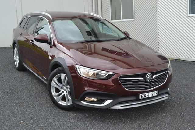 Used Holden Calais ZB MY18 Tourer AWD, 2018 Holden Calais ZB MY18 Tourer AWD Burgundy 9 Speed Sports Automatic Wagon