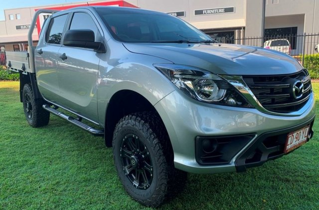 Used Mazda BT-50 UR0YG1 XT, 2019 Mazda BT-50 UR0YG1 XT Grey 6 Speed Sports Automatic Cab Chassis