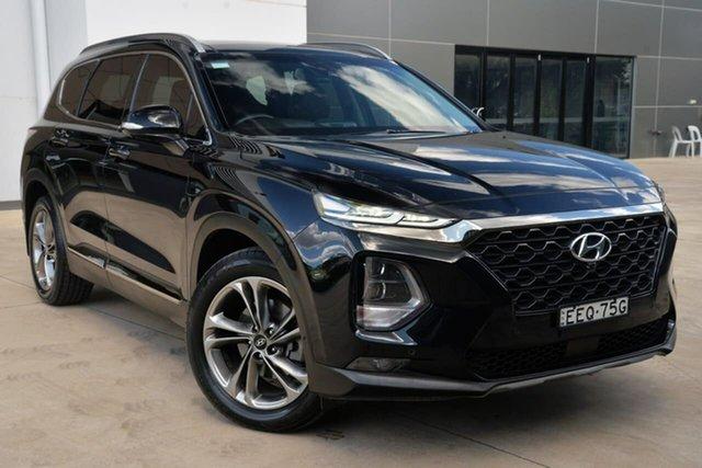 Used Hyundai Santa Fe TM MY19 Highlander, 2018 Hyundai Santa Fe TM MY19 Highlander Black 8 Speed Sports Automatic Wagon