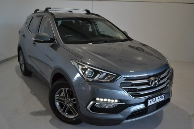 Used Hyundai Santa Fe DM5 MY18 Active, 2017 Hyundai Santa Fe DM5 MY18 Active Silver 6 Speed Sports Automatic Wagon