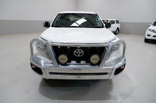 2017 Toyota Landcruiser Prado GDJ150R MY17 GX (4x4) White 6 Speed Automatic Wagon.