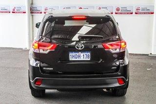 2018 Toyota Kluger GSU55R GXL (4x4) Eclipse Black 8 Speed Automatic Wagon