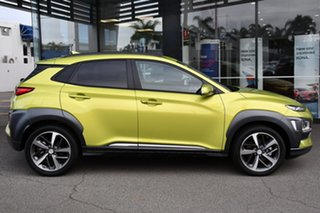 2020 Hyundai Kona OS.3 MY20 Highlander 2WD Phantom Black 6 Speed Sports Automatic Wagon