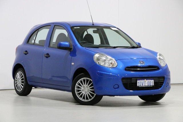 Used Nissan Micra K13 ST-L, 2012 Nissan Micra K13 ST-L Blue 4 Speed Automatic Hatchback