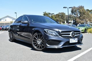 2015 Mercedes-Benz C-Class W205 806MY C250 7G-Tronic + Grey 7 Speed Sports Automatic Sedan.