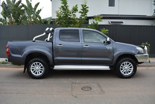 2011 Toyota Hilux GGN25R MY12 SR5 Double Cab Grey 5 Speed Automatic Utility