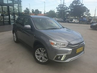 2018 Mitsubishi ASX XC MY19 ES 2WD ADAS Grey 1 Speed Constant Variable Wagon.