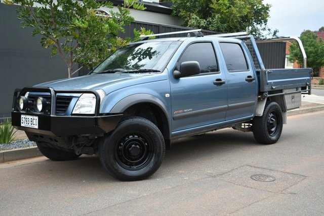 Used Holden Rodeo RA LX Crew Cab, 2003 Holden Rodeo RA LX Crew Cab Blue 5 Speed Manual Utility