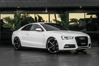 2013 Audi A5 8T MY13 Multitronic White 8 Speed Constant Variable Coupe.