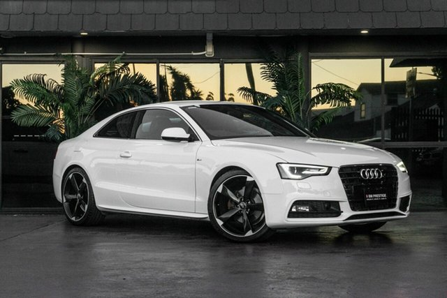 Used Audi A5 8T MY13 Multitronic, 2013 Audi A5 8T MY13 Multitronic White 8 Speed Constant Variable Coupe