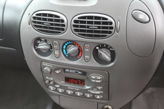 1998 Ford Falcon AU XR6 White 4 Speed Automatic Sedan