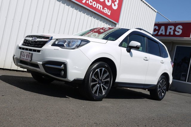 Used Subaru Forester S4 MY17 2.0D-S CVT AWD Bundaberg, 2016 Subaru Forester S4 MY17 2.0D-S CVT AWD White 7 Speed Constant Variable Wagon