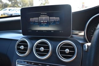 2015 Mercedes-Benz C-Class W205 806MY C250 7G-Tronic + Grey 7 Speed Sports Automatic Sedan