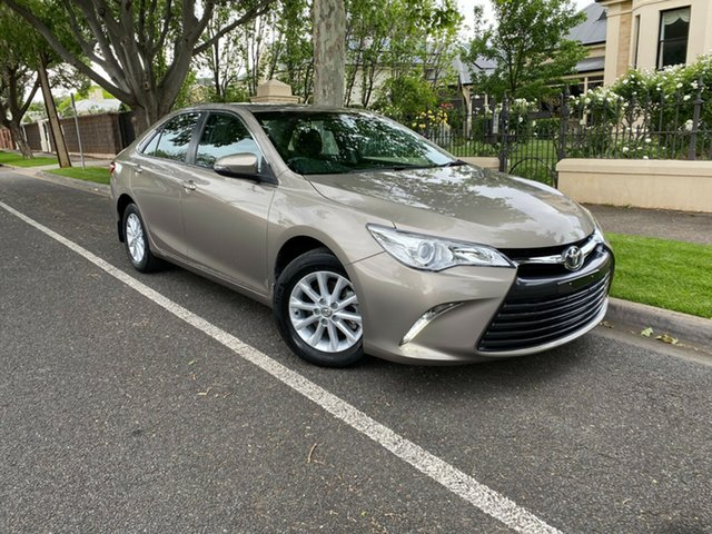 Used Toyota Camry ASV50R Altise Hawthorn, 2017 Toyota Camry ASV50R Altise Bronze 6 Speed Sports Automatic Sedan