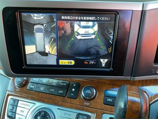 2009 Nissan Elgrand NE51 Highwaystar White Automatic Wagon