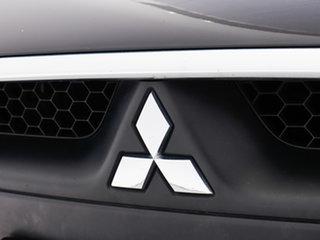 2015 Mitsubishi Lancer CJ MY15 GSR Sportback Black 6 Speed CVT Auto Sequential Hatchback