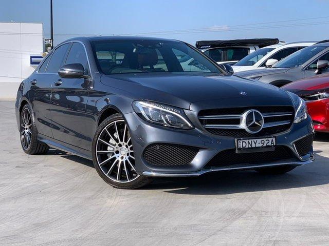Used Mercedes-Benz C-Class W205 806MY C250 7G-Tronic + Liverpool, 2015 Mercedes-Benz C-Class W205 806MY C250 7G-Tronic + Grey 7 Speed Sports Automatic Sedan