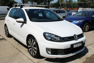 2012 Volkswagen Golf 1K MY13 GTD White 6 Speed Manual Hatchback.
