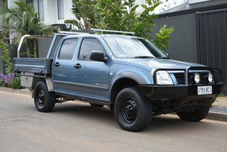 2003 Holden Rodeo RA LX Crew Cab Blue 5 Speed Manual Utility