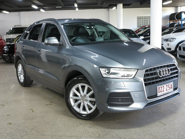 Used Audi Q3 8U MY17 TFSI S Tronic Albion, 2017 Audi Q3 8U MY17 TFSI S Tronic Grey 6 Speed Sports Automatic Dual Clutch Wagon