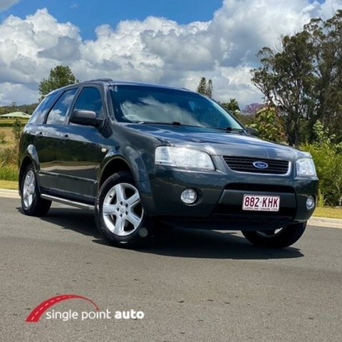 Used Ford Territory SY TS Chevallum, 2007 Ford Territory SY TS Graphite 4 Speed Sports Automatic Wagon