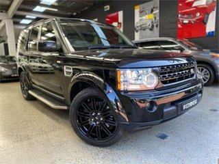 2009 Land Rover Discovery 4 Series 4 V8 Santorini Black Sports Automatic Wagon.