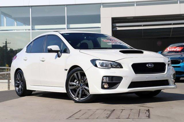 Used Subaru WRX V1 MY17 Premium Lineartronic AWD, 2017 Subaru WRX V1 MY17 Premium Lineartronic AWD Crystal White 8 Speed Constant Variable Sedan