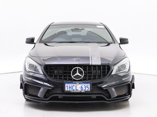 2015 Mercedes-Benz CLA45 117 MY15 AMG Black 7 Speed Automatic Coupe