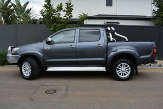 2011 Toyota Hilux GGN25R MY12 SR5 Double Cab Grey 5 Speed Automatic Utility.