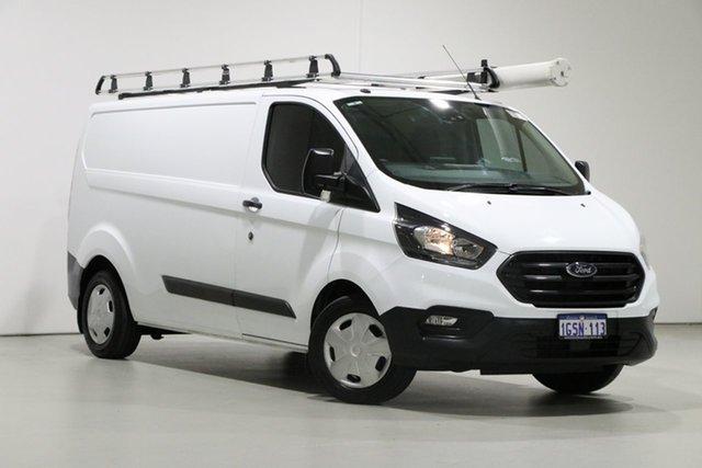 Used Ford Transit Custom VN MY18.75 340L (LWB), 2018 Ford Transit Custom VN MY18.75 340L (LWB) White 6 Speed Automatic Van