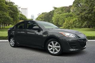 2010 Mazda 3 BL10F1 Maxx Sport Grey 6 Speed Manual Sedan.