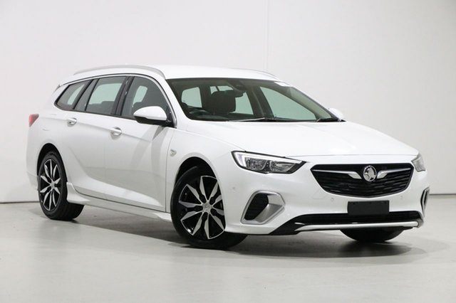 Used Holden Commodore ZB MY19.5 RS, 2019 Holden Commodore ZB MY19.5 RS White 9 Speed Automatic Sportswagon