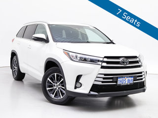 2018 Toyota Kluger GSU55R MY18 GXL (4x4) White 8 Speed Automatic Wagon.