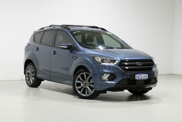 Used Ford Escape ZG MY19.25 ST-Line (AWD), 2019 Ford Escape ZG MY19.25 ST-Line (AWD) Blue 6 Speed Automatic SUV
