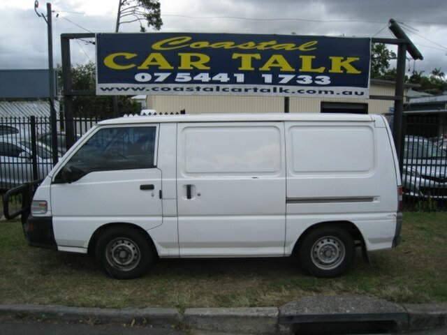Used Mitsubishi Express SJ MY06 SWB, 2005 Mitsubishi Express SJ MY06 SWB White 5 Speed Manual Van
