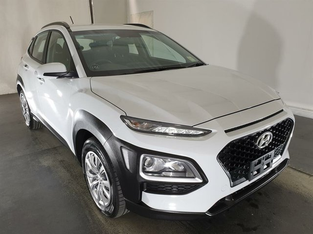 Used Hyundai Kona OS.2 MY19 Go 2WD, 2019 Hyundai Kona OS.2 MY19 Go 2WD White 6 Speed Sports Automatic Wagon