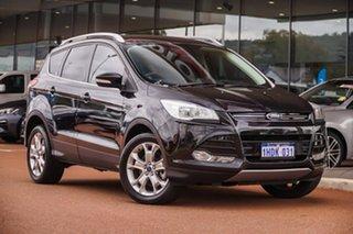 2013 Ford Kuga TF Trend AWD Black 6 Speed Sports Automatic Wagon.