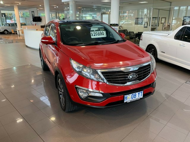 Used Kia Sportage SL Platinum Launceston, 2010 Kia Sportage SL Platinum Burgundy 6 Speed Sports Automatic Wagon