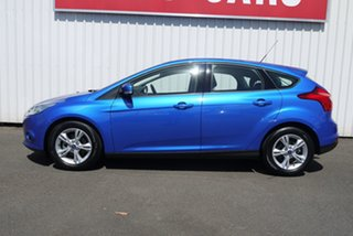 2012 Ford Focus LW MkII Trend PwrShift Blue 6 Speed Automatic Hatchback