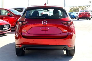 2020 Mazda CX-5 KF4WLA GT SKYACTIV-Drive i-ACTIV AWD Red 6 Speed Sports Automatic Wagon.